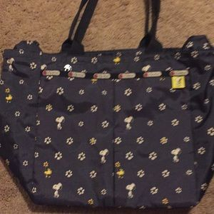 Snoopy Lesportsac Every Girl tote